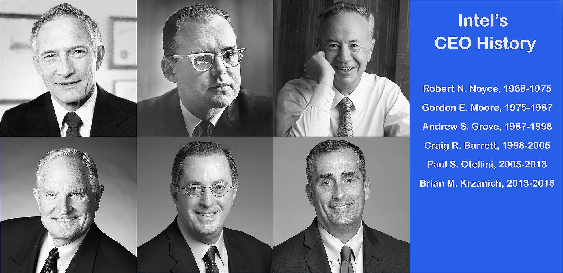 Intel'™s CEO History