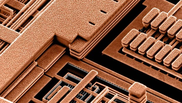 IBM's development of copper interconnect for ICs