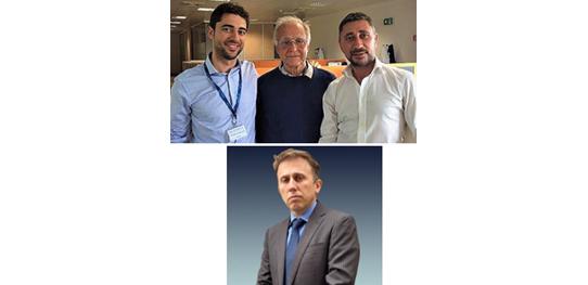 Stefano Felici, Roberto Crippa, and Cristiano Crippa
