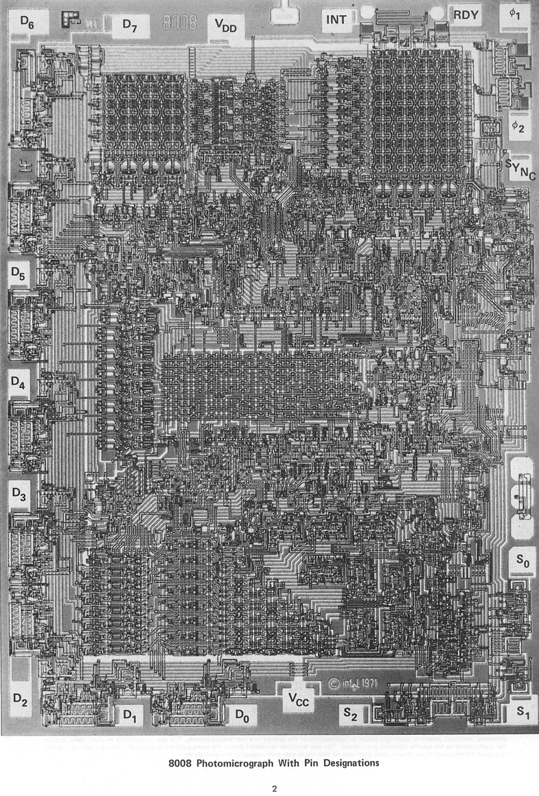 8008 Photomicrograph With Pin Designations