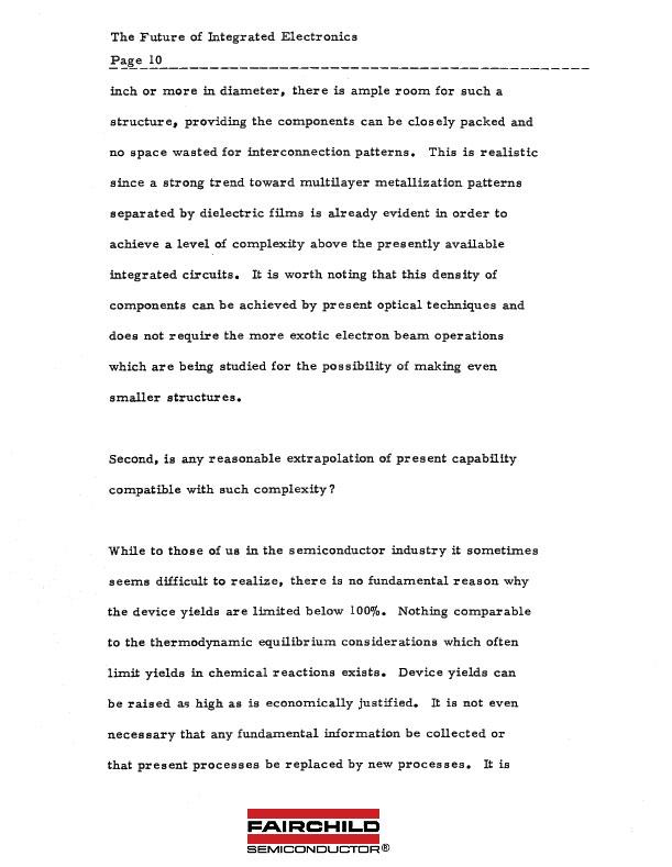 Moore's Law: Original Draft 1965