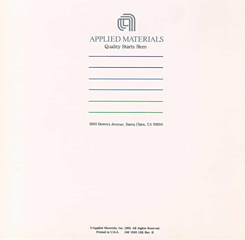 Applied Materials - Precision Etch 8300