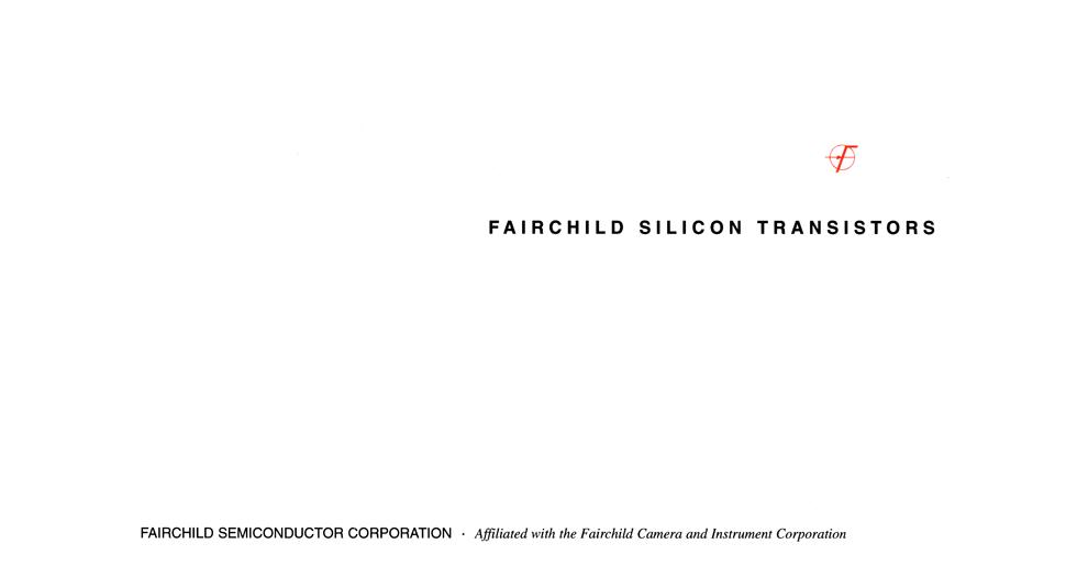 Fairchild Silicon transitor