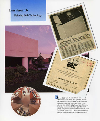 Lam Research: the Early Years