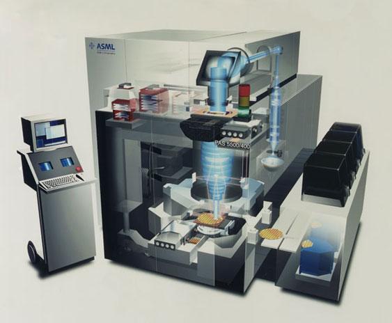 ASML - PAS 5500/400, Step & Scan System