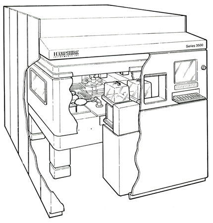 Hampshire - Series 3500 X-Ray Lithography System