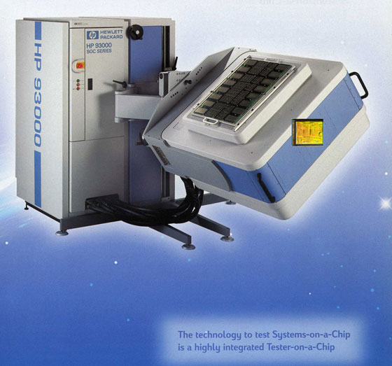 Semiconductor Test Equipment : Verigy hp