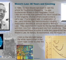 Moore's Law: 40 Years a ...