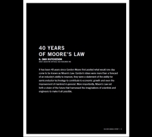 40 Years Of Moore's Law