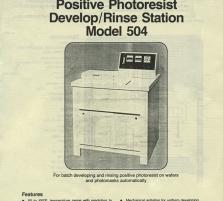 Ultratech - Model 504 R ...