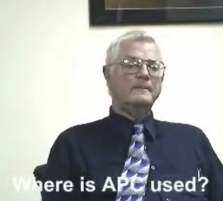 Where is APC used?