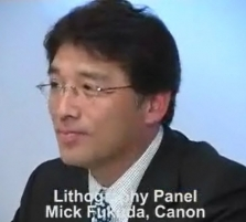 Lithography Panel: Mick ...