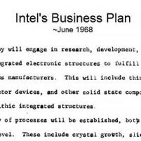 Intel's Founding