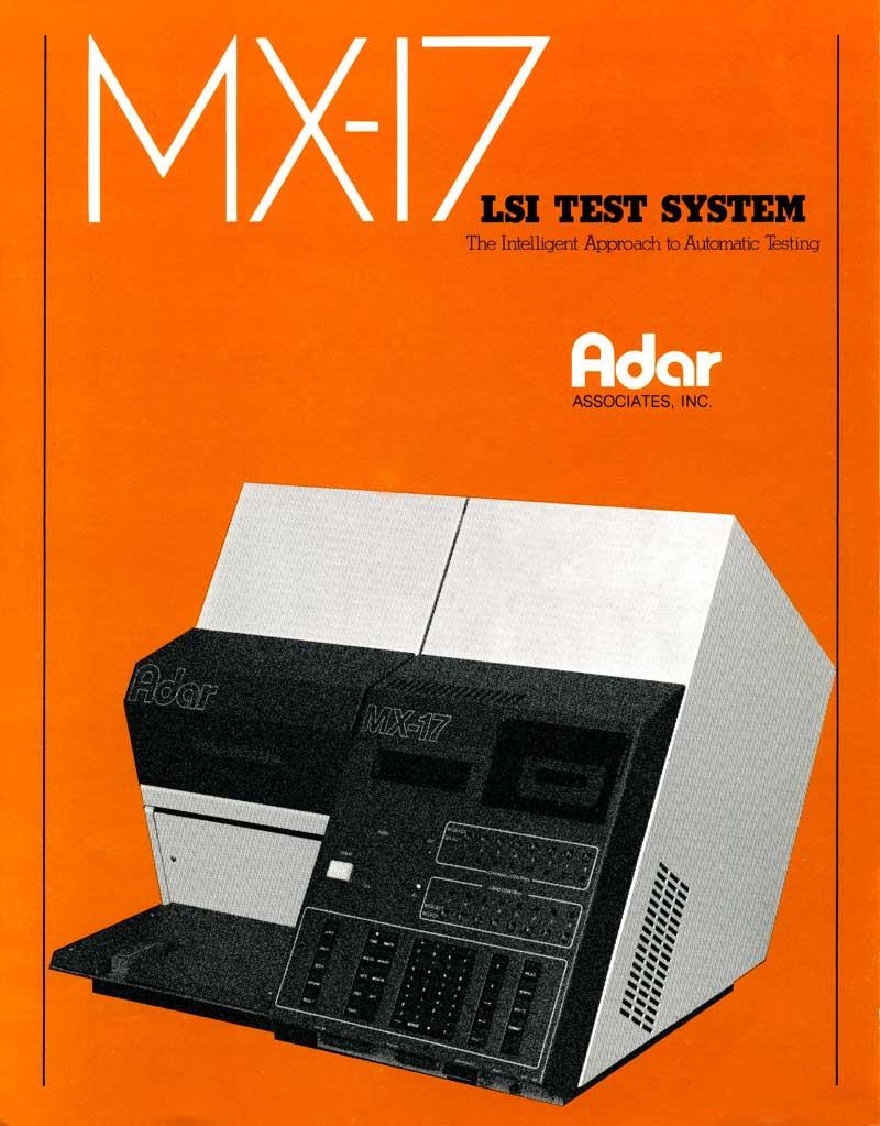 Adar MX-17, LSI Test System 1979