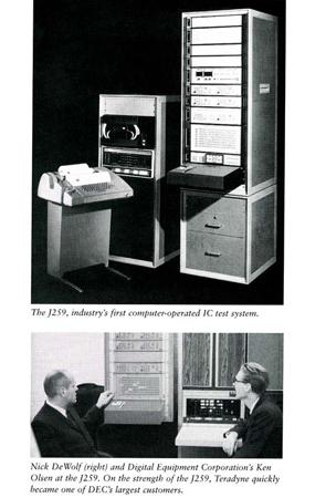 Teradyne J259 IC Test System
